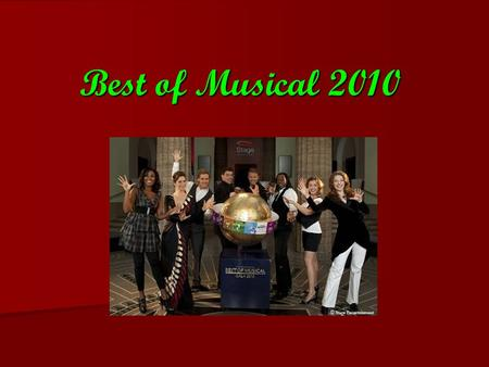 Best of Musical 2010.