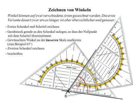 Winkelmessung Christian Preyer EWMS Karlsplatz. - ppt herunterladen