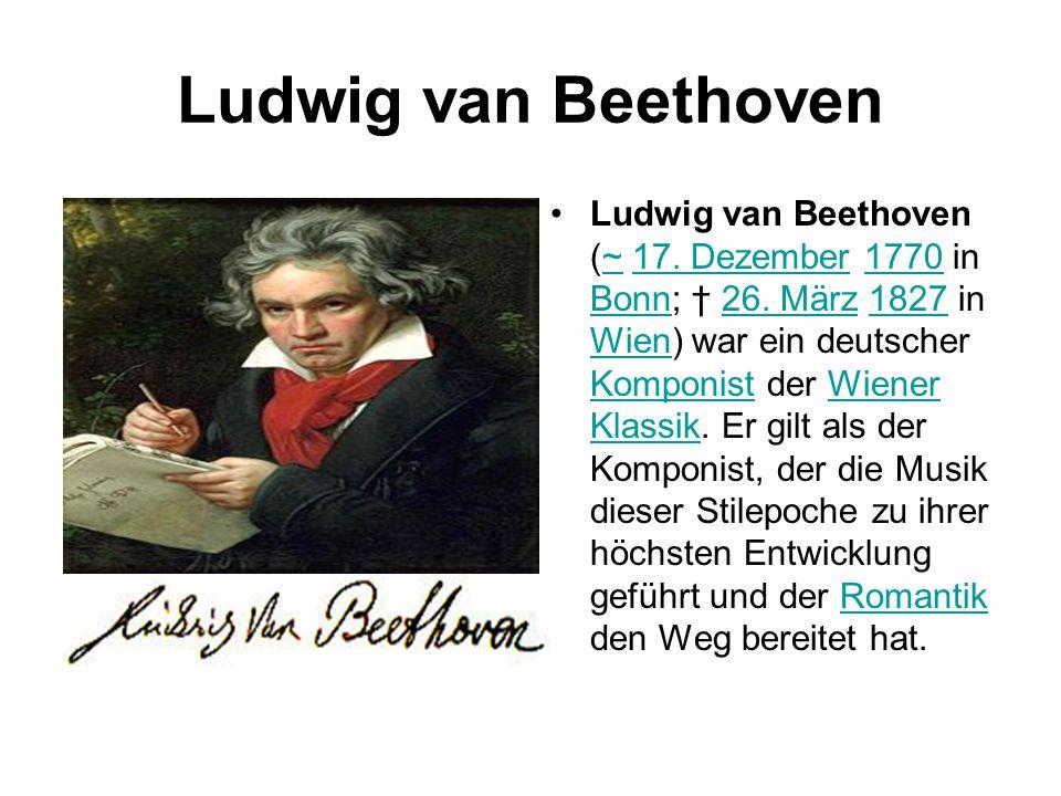 Ludwig Van Beethoven Lebenslauf Ppt Video