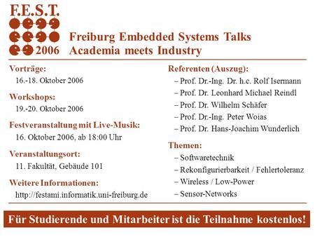 1 Albert-Ludwigs-Universität Freiburg Rechnernetze und Telematik ...