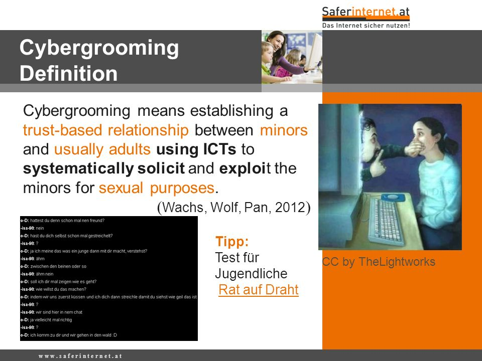 Cybergrooming Definition