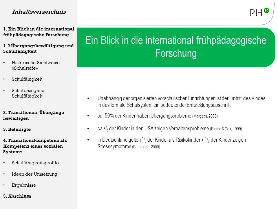 """Transition Kindergarten – Schule"""" - ppt herunterladen"""