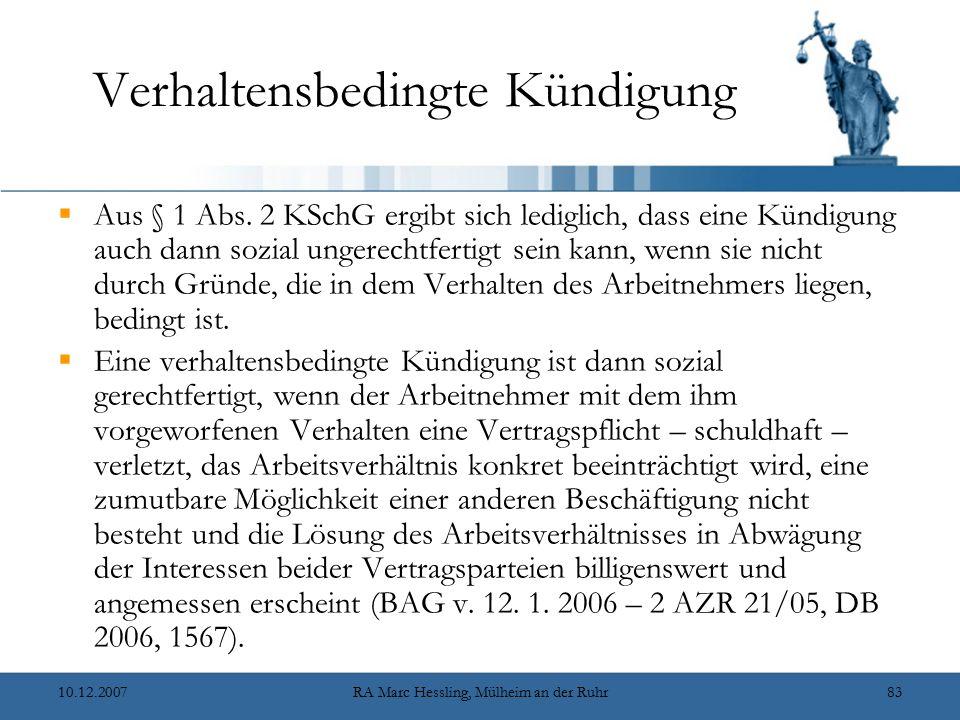 Kündigungsschutzrecht und Teilzeit- und Befristungsrecht - ppt ...