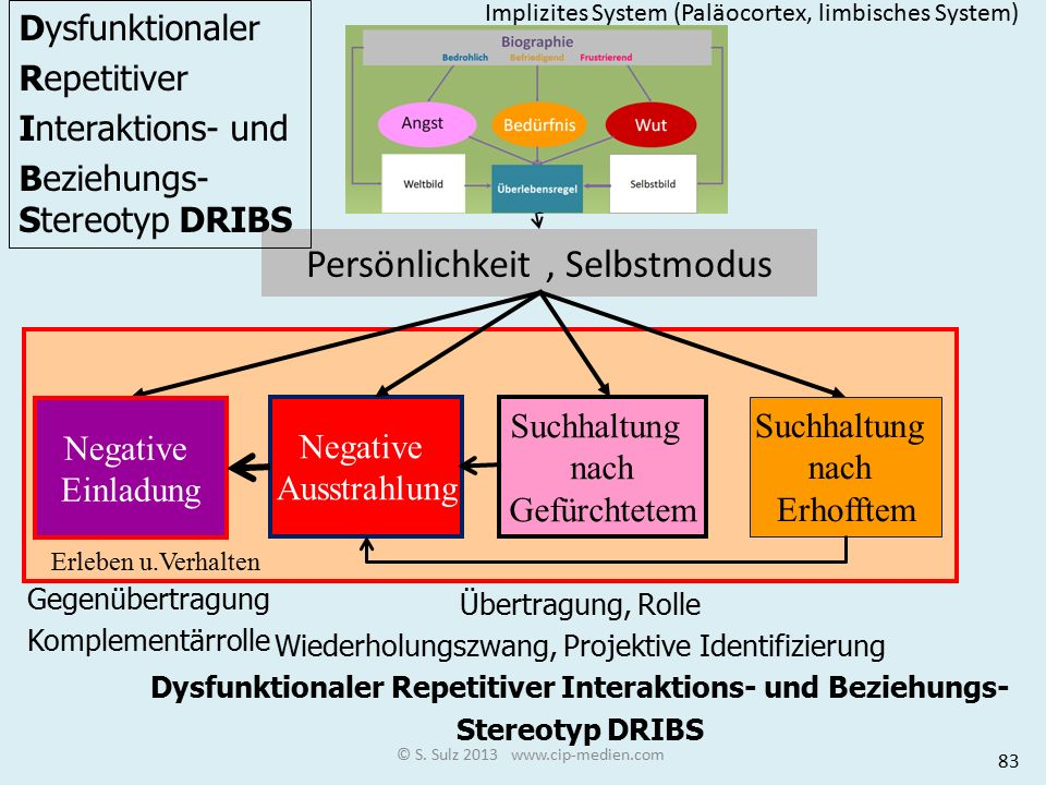 Dysfunktionaler Repetitiver Interaktions- und Beziehungs-