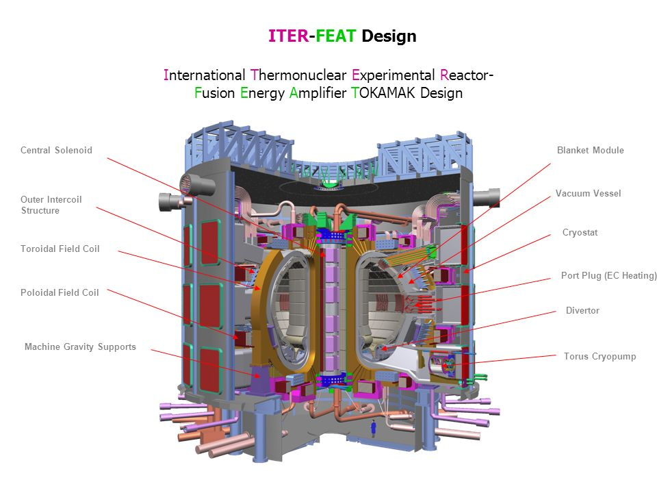 ITER-FEAT Design International Thermonuclear Experimental Reactor-