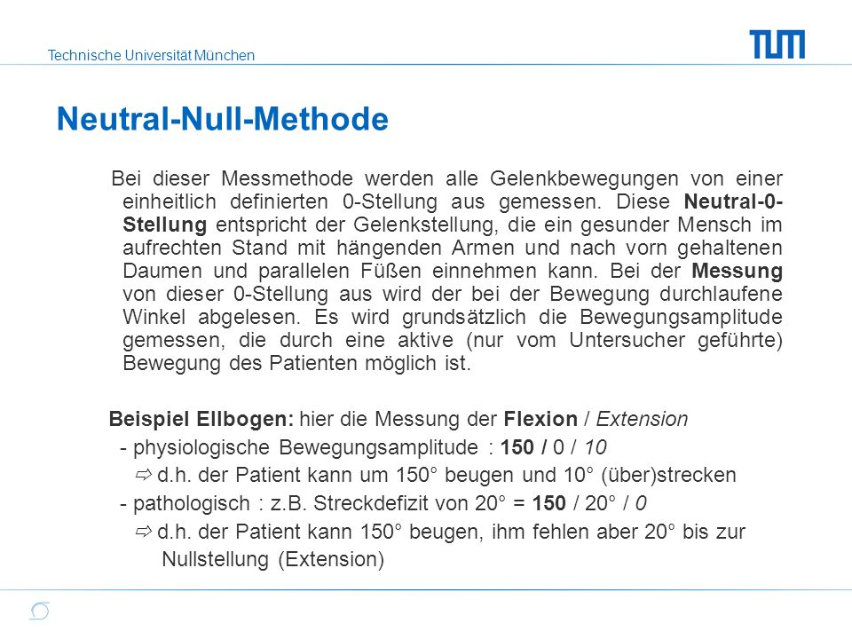 Neutral-Null-Methode