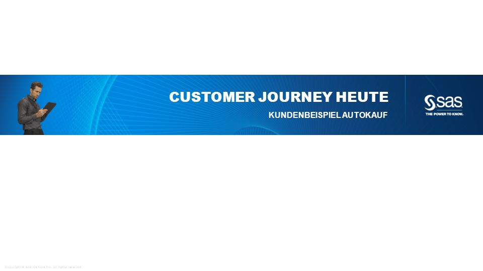 Customer journey heute