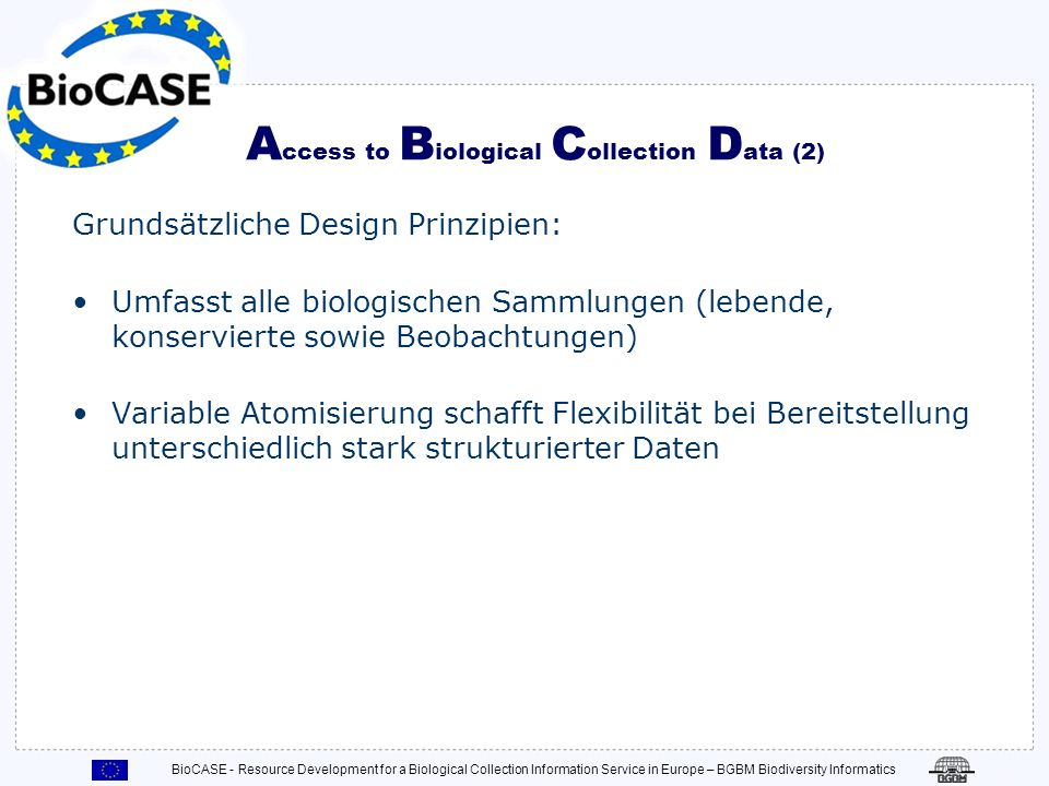 Access to Biological Collection Data (2)