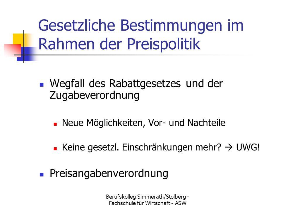 Berufskolleg Simmerath/Stolberg - Fachschule für Wirtschaft - ASW ...