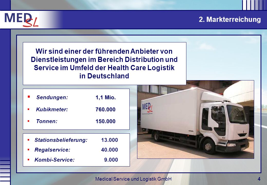 Medical Service und Logistik GmbH