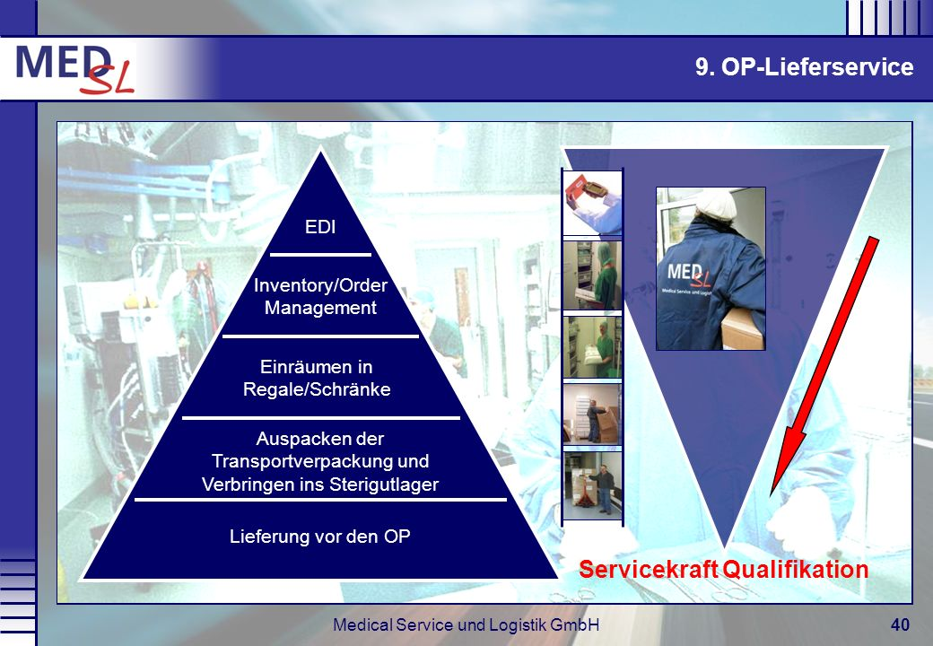 Servicekraft Qualifikation