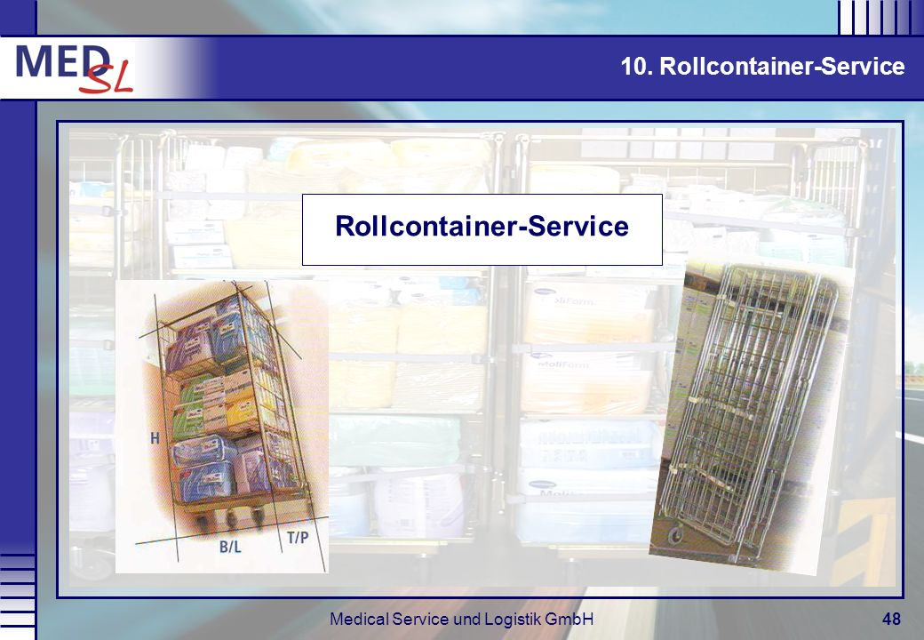 Rollcontainer-Service