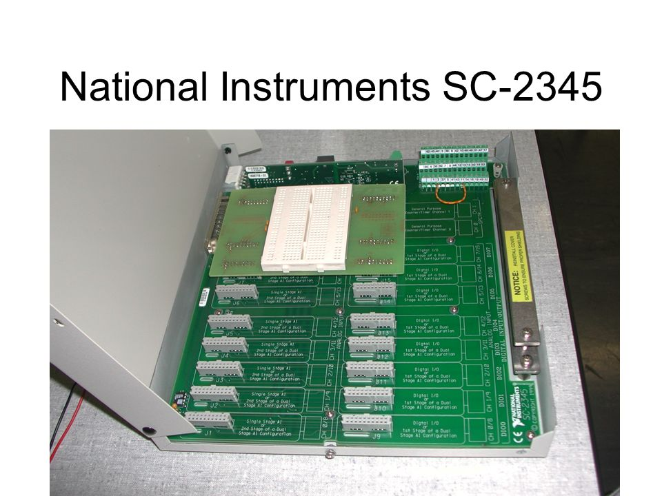 National Instruments SC-2345