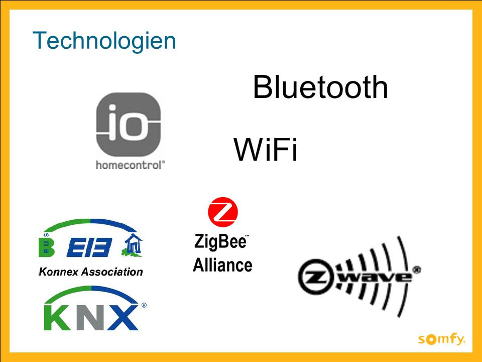 Technologien Bluetooth WiFi