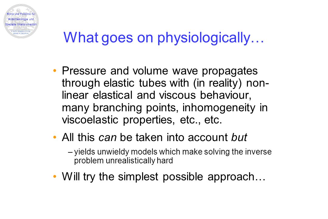 What goes on physiologically…