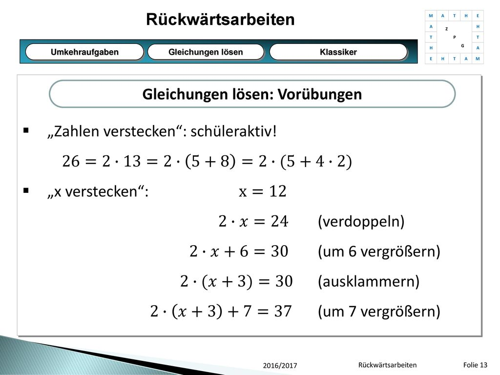 Groß Zwei Stufen Gleichungen Mit Ganzen Zahlen Arbeitsblatt ...