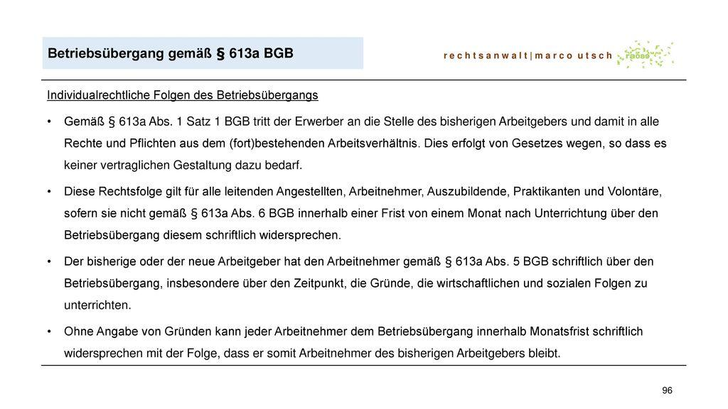 Fortbildung für Betriebsräte Arbeits- und Betriebsverfassungsrecht ...