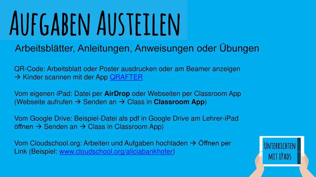 Unterrichten mit iPads - ppt video online herunterladen