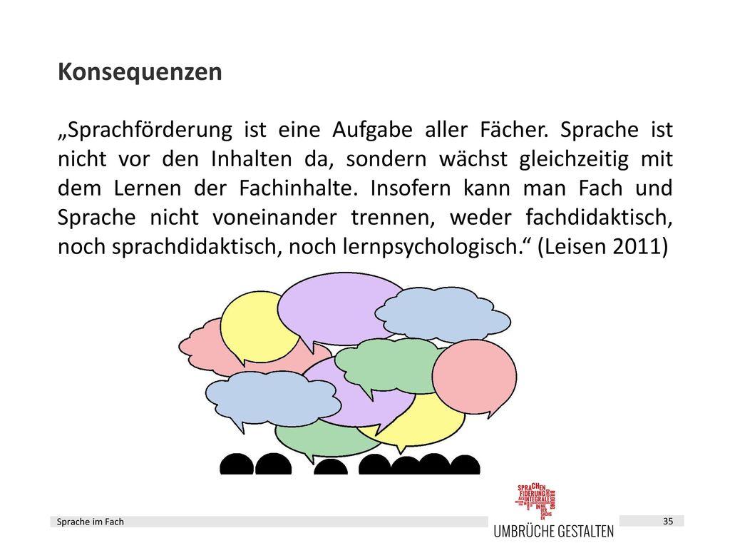 Sprachbildung im Fach – Fortbildungsbaustein 5 - ppt herunterladen