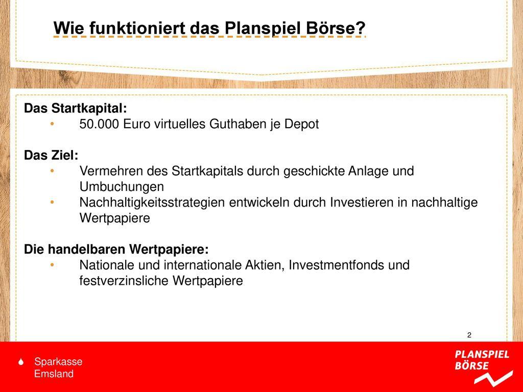Herzlich Willkommen Zum Planspiel Börse Ppt Video Online Herunterladen