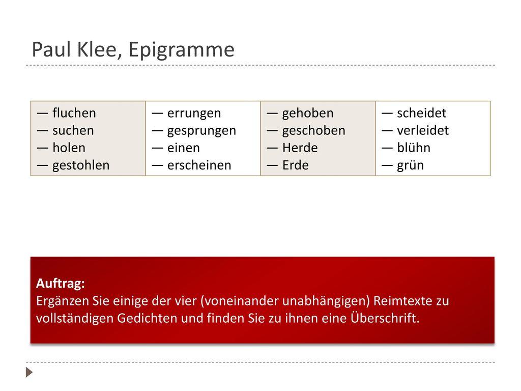 Lyrik Lyrik Quellen: Günter Waldmann. Produktiver Umgang mit Lyrik ...