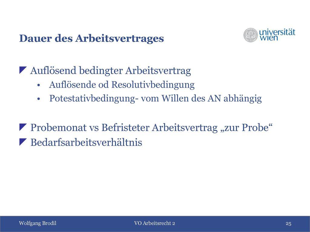 Arbeits- und Sozialrecht: Teil 2 - Individualarbeitsrecht - ppt ...