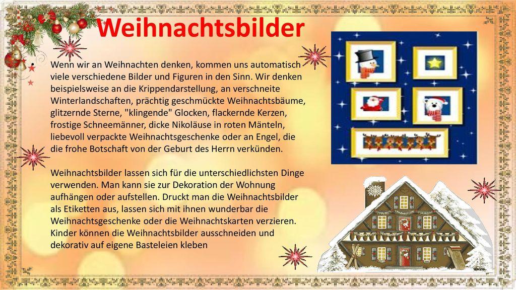 Verschneite Weihnachtsbilder.Weihnachten In Deutschland Ppt Herunterladen