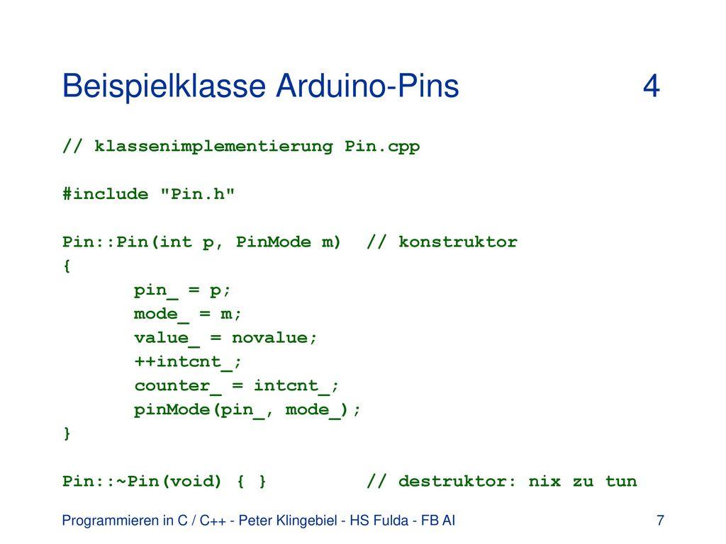 Programmieren In C C Klassen Und Vererbung Templates Ppt Herunterladen