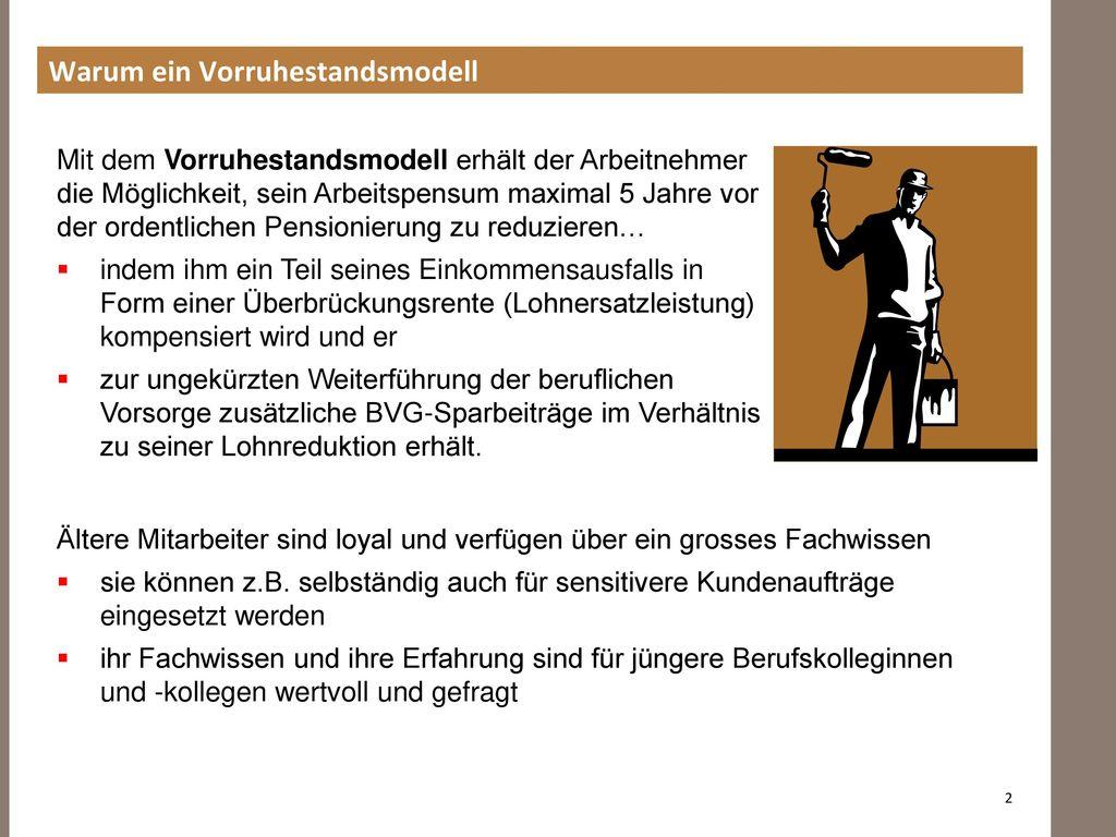 Vorruhestandsmodell Im Maler Und Gipsergewerbe Ppt Herunterladen