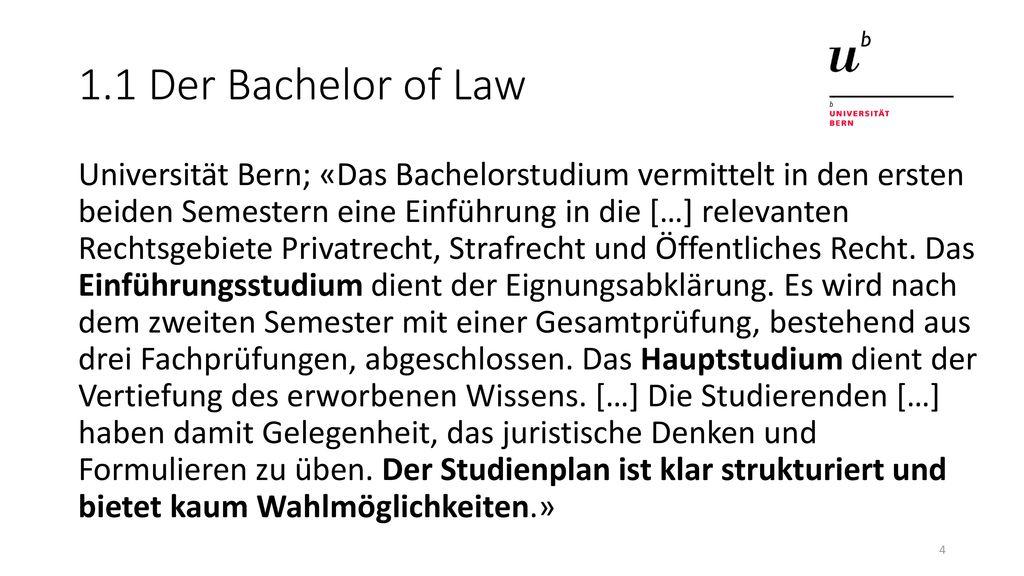 Rechtswissenschaften An Der Universität Bern Ppt Video Online