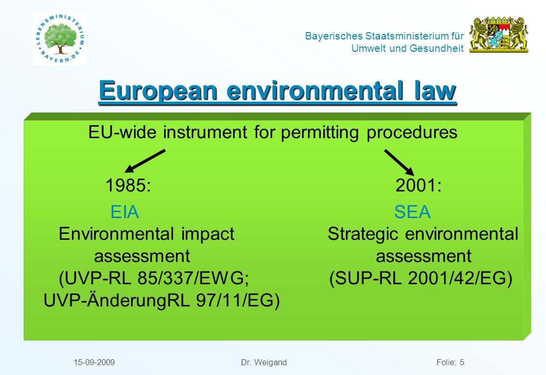 European environmental law