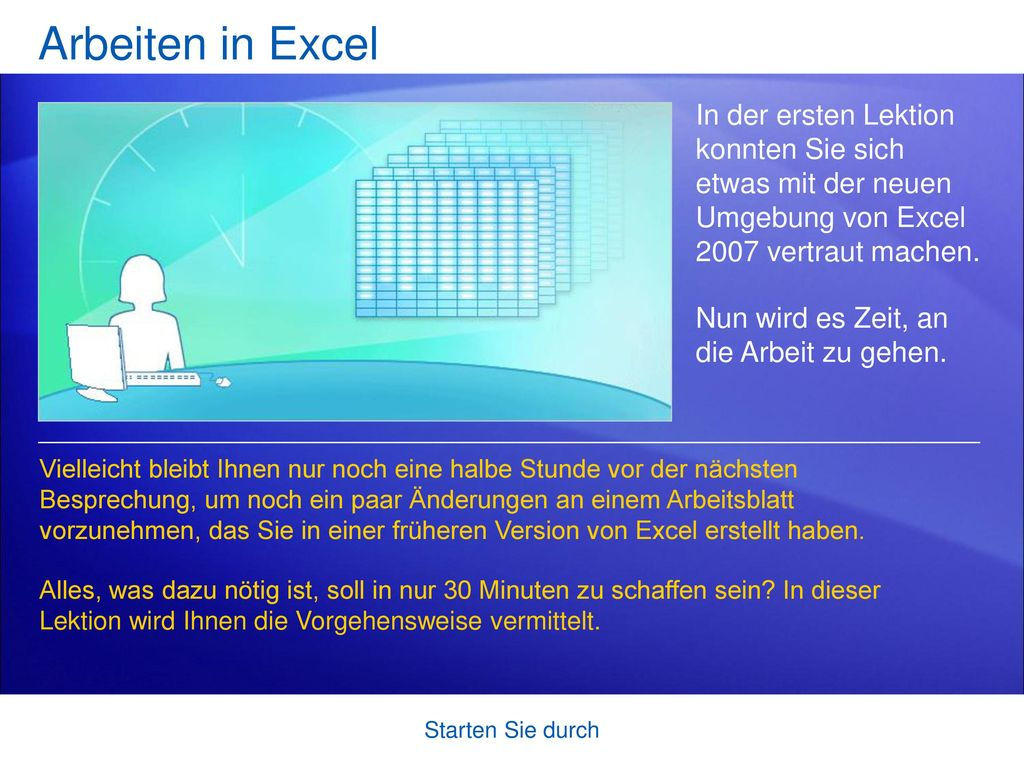 Microsoft® Office Excel® 2007-Schulung - ppt herunterladen
