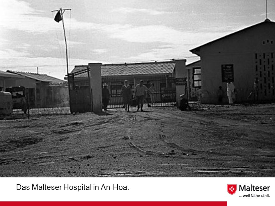 Das Malteser Hospital in An-Hoa.