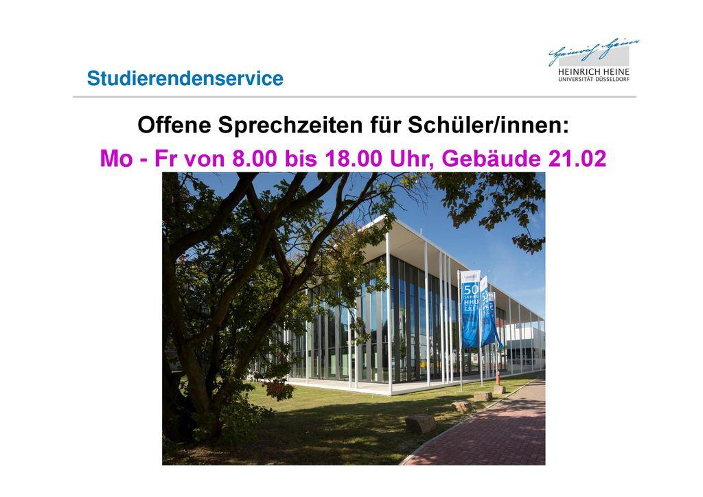 Heinrich-Heine-Universität Düsseldorf - ppt herunterladen