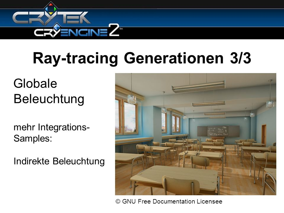 Ray-tracing Generationen 3/3