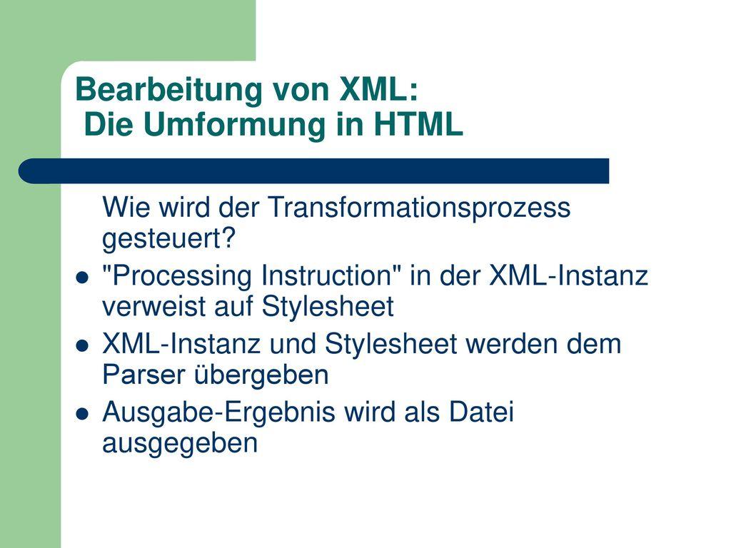 Einführung in XML 1-Tages-Kurs. - ppt herunterladen