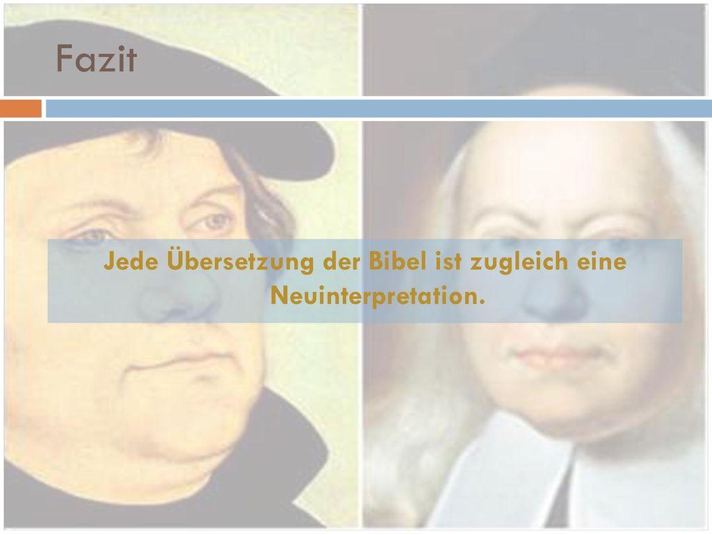 Francke Und Die Lutherbibel Ppt Herunterladen