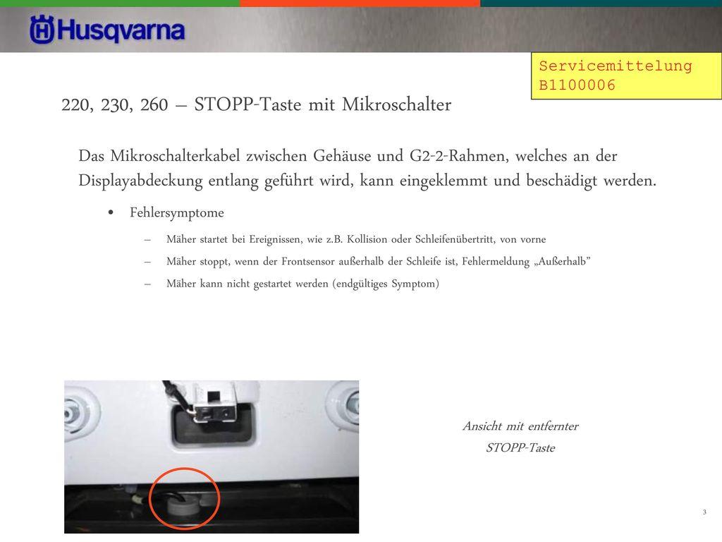 Händlerinformationen Automower ppt herunterladen