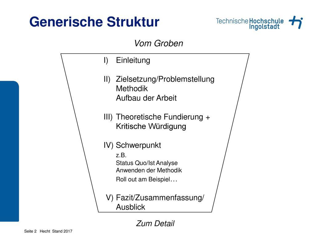Der Weg Zur Abschlussarbeit Prof Dr Hecht Ppt Herunterladen