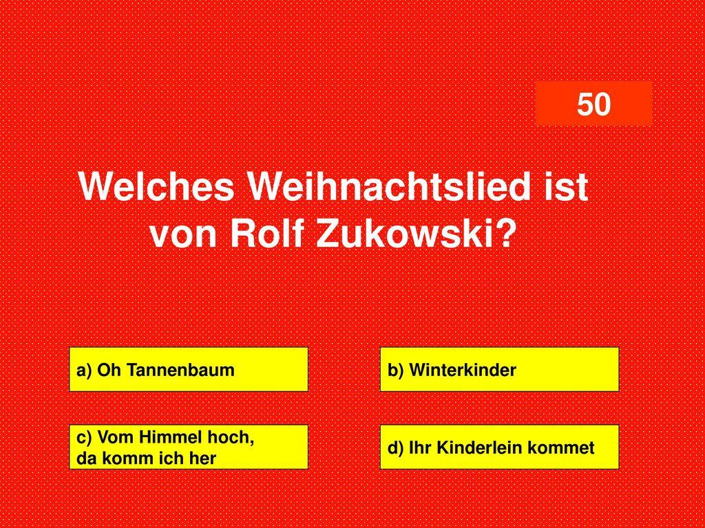 WEIHNACHTSQUIZ FÜR GUTE MENSCHEN - ppt herunterladen
