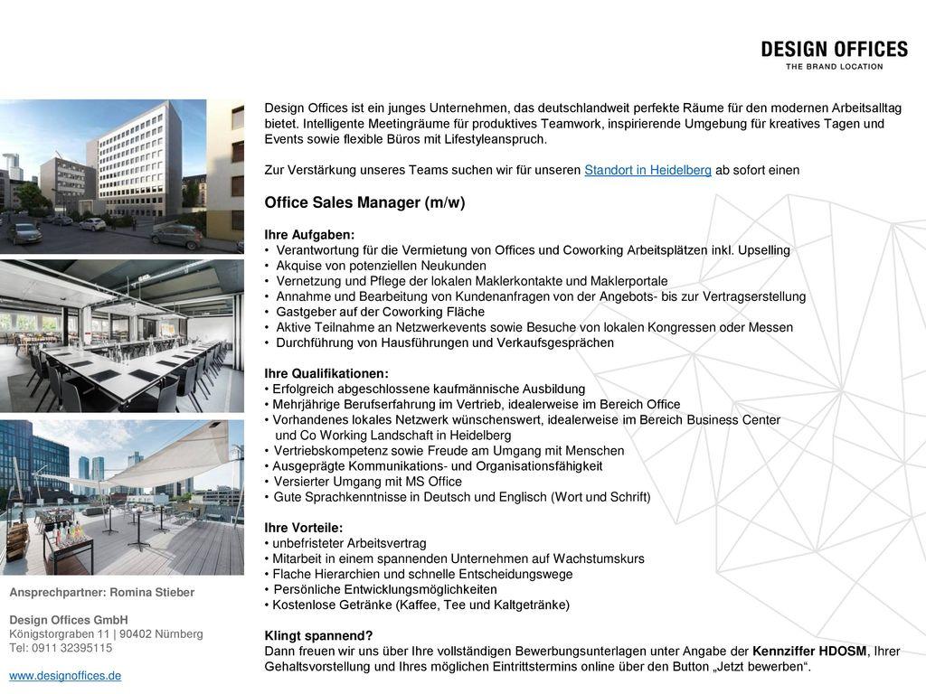 Design Offices Ist Ein Junges Unternehmen Das Deutschlandweit