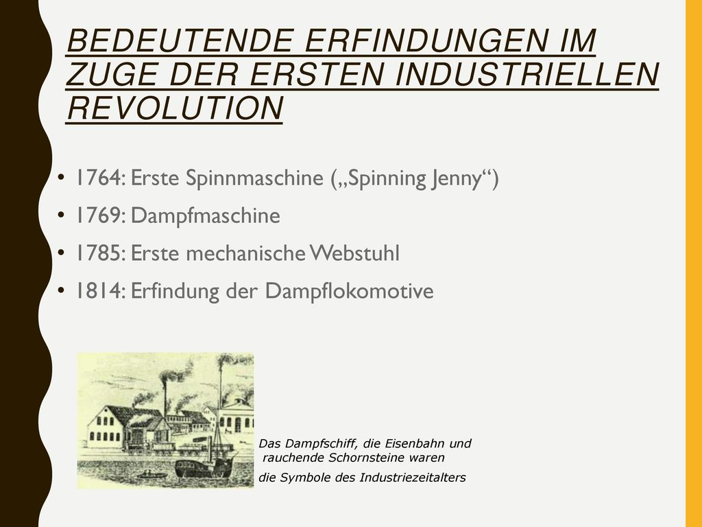 Was ist die industrielle Revolution? Veränderungen/ Auswirkungen ...