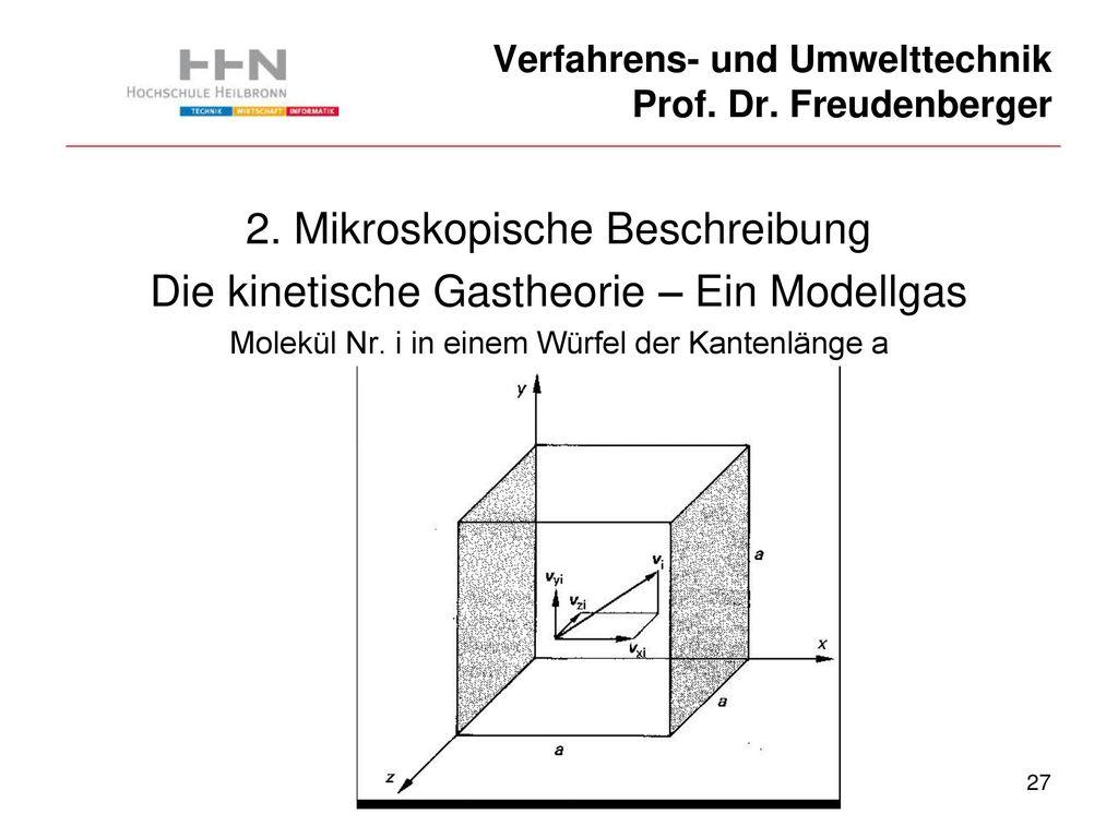 Verfahrens- und Umwelttechnik Prof. Dr. Freudenberger - ppt ...