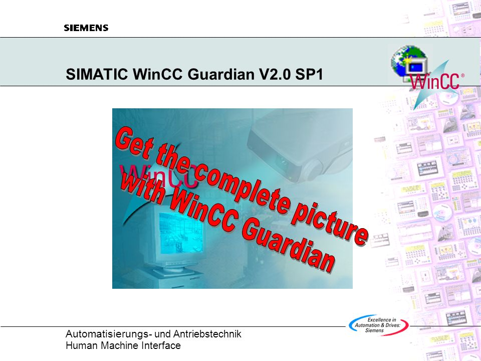 SIMATIC WinCC Guardian V2.0 SP1