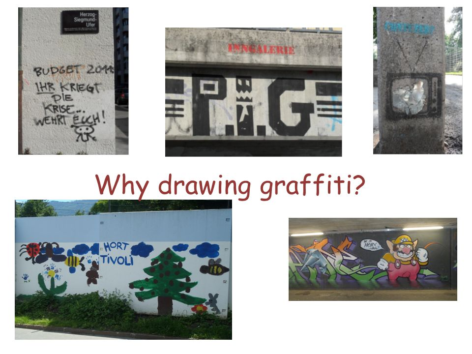 Why drawing graffiti Rooftop