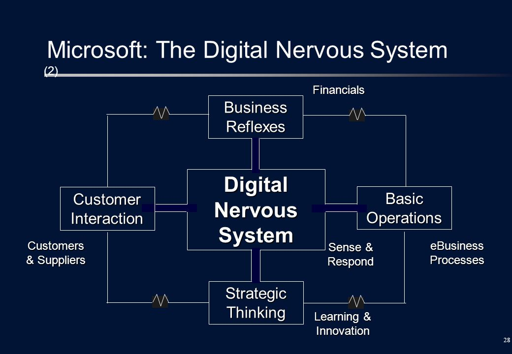 Microsoft: The Digital Nervous System (2)
