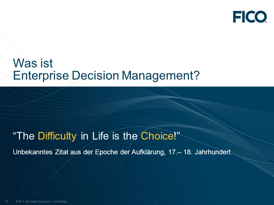 Enterprise Decision Management