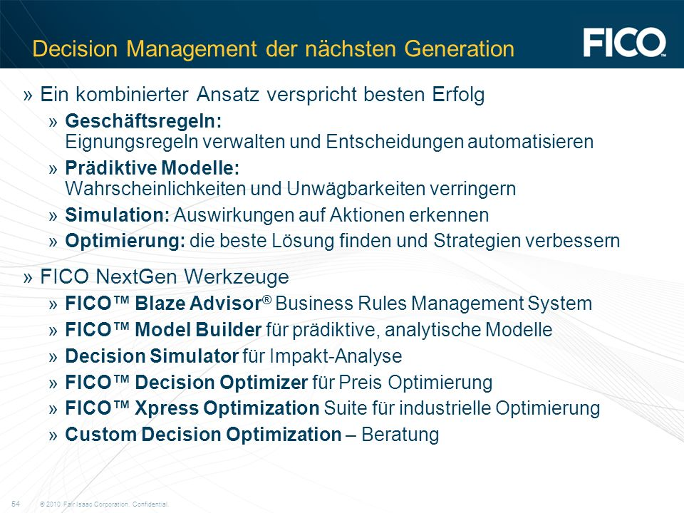 Decision Management der nächsten Generation