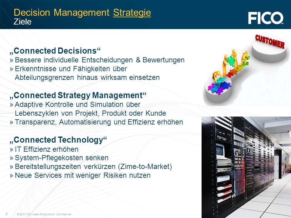 Decision Management Strategie Ziele