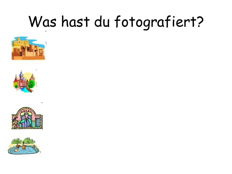 Was hast du fotografiert